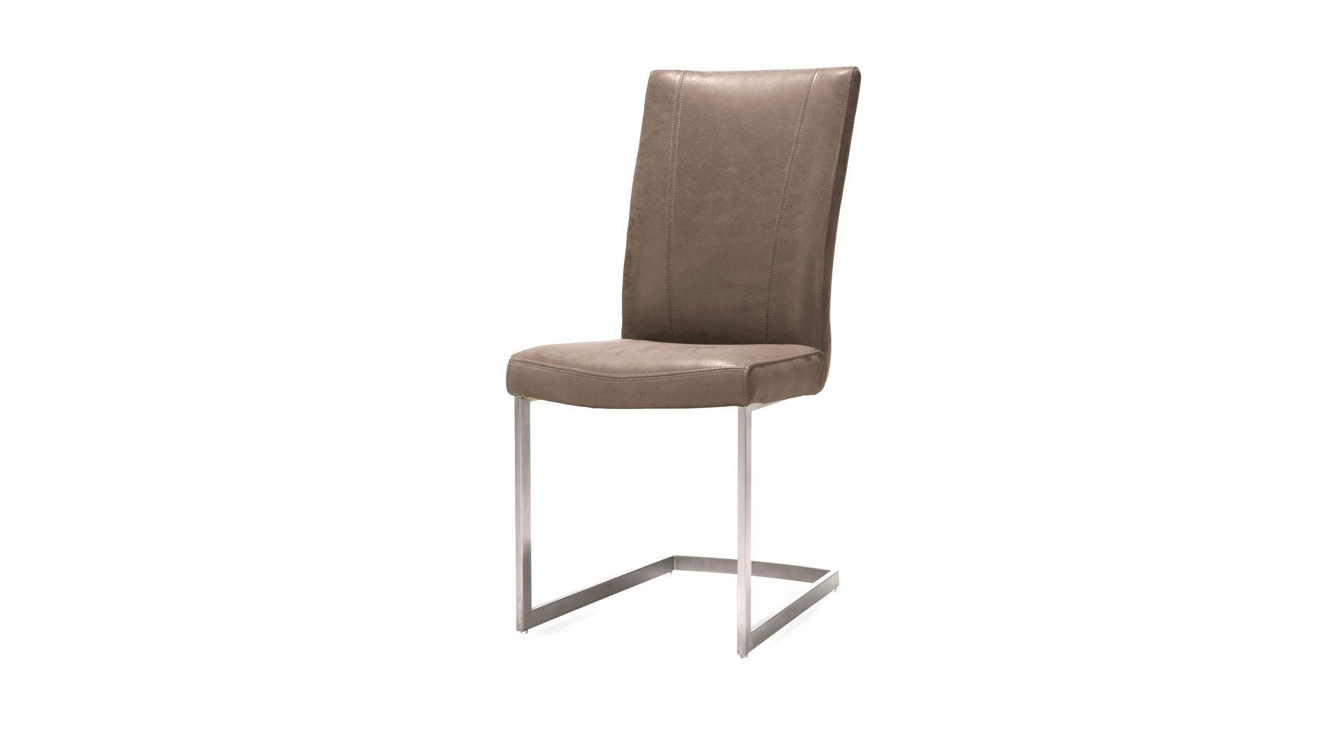 Schwingstuhl Weis Leder ~ Esszimmerstühle weiss design