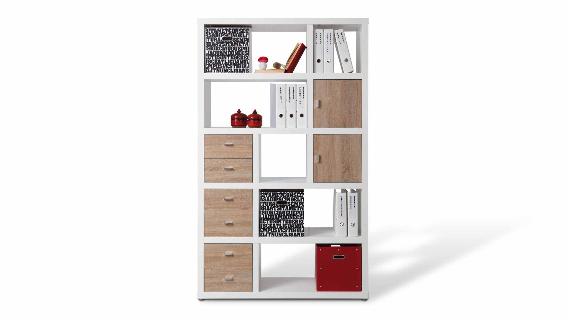 Raumteiler Regal Space Als Kleinmöbel Mit Stil Weiße