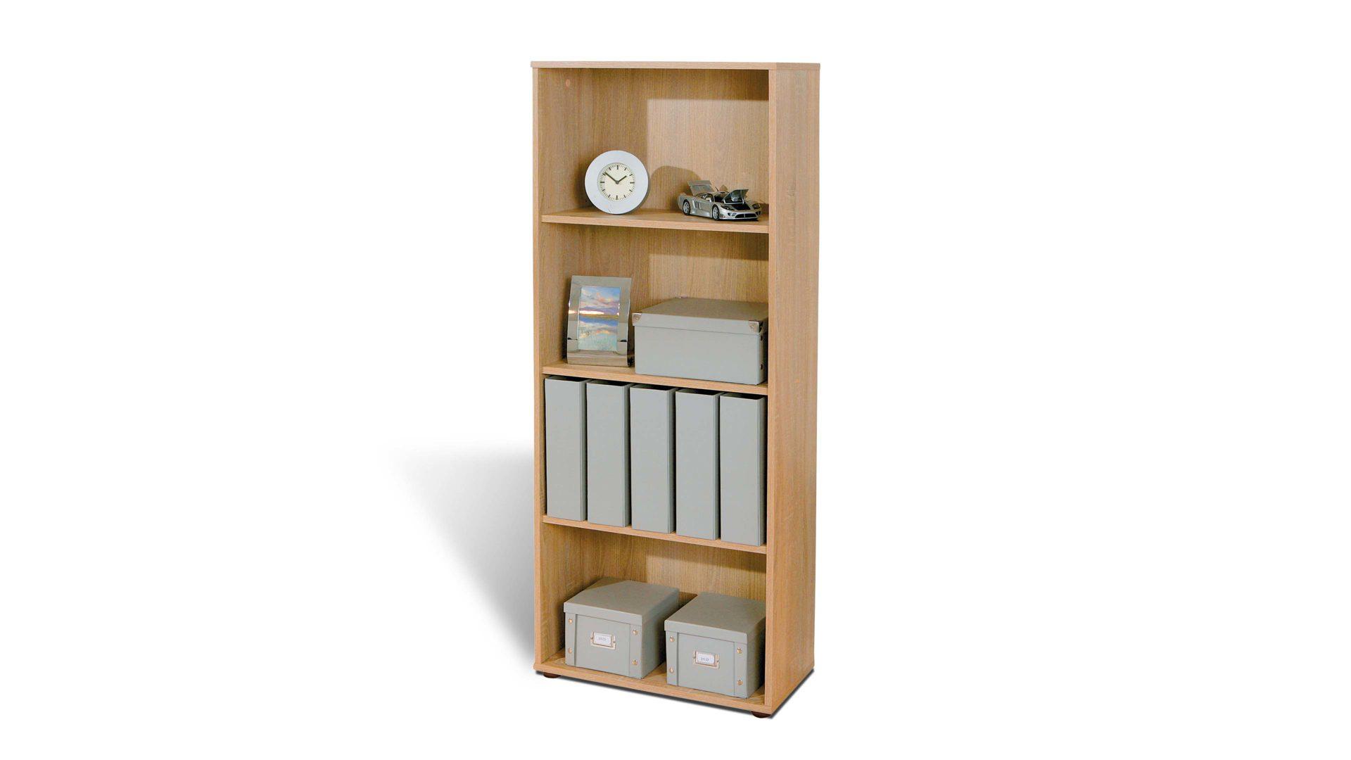 Regal Parini als Wohnzimmermöbel oder Büromöbel einsetzbar, Sonoma ...