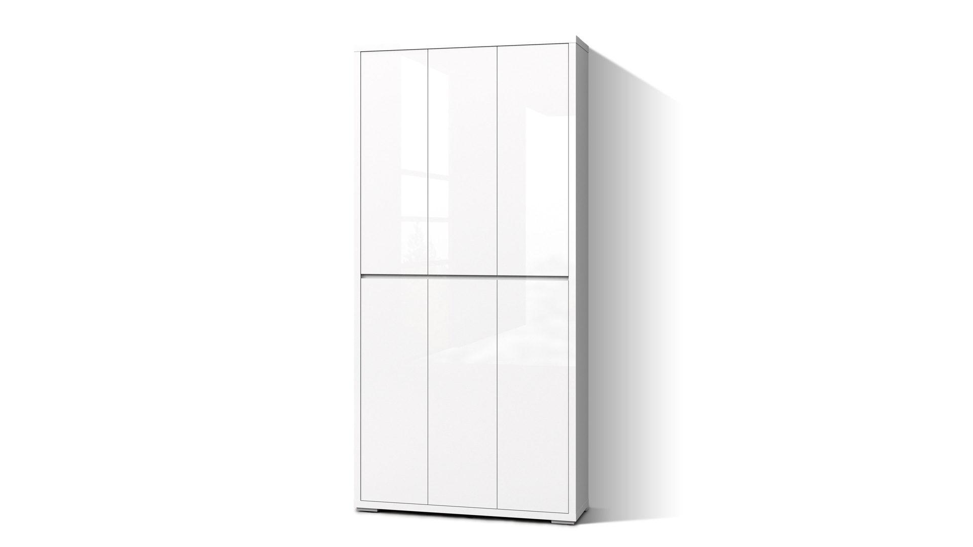 Büroschrank weiß mit türen  Mehrzweckschrank, ein Kleiderschrank bzw. Büroschrank, weiße ...