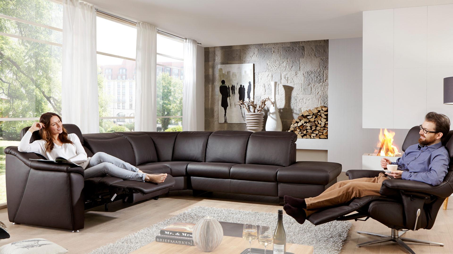 Comfortmaster Relax Wohnlandschaft 1524 Mit Federkern